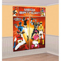 Power Rangers Megaforce Scene Setter Wall Decorating Kit