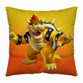 Super Mario Bross Medium 13 Inch Orange Pillow - Koopa
