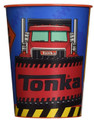 12X Tonka Plastic 16 Ounce Reusable Keepsake Favor Cup ( 12 Cups )