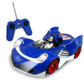 Sonic The Hedgehog And All-Stars Racing Transformed Radio Control Car