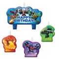 Skylanders 4 Piece Molded Candle Set