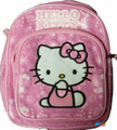 Hello Kitty Small Toddler Cloth Backpack Book Bag Pack - Pink