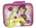 Princess Belle Enchanted Rose Rectangular Insulated Lunch Bag Lunch Box