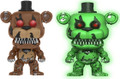 2X Funko Pop! Games Five Nights at Freddy's Vinyl Figures #111 Freddy and Green