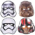 Star Wars the Force Awakens Paper Masks (pack of 8)