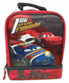 Disney's Cars Dual Compartment Lunch Box Lunch Bag - 1st to the Finish