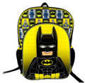 "Lego Batman 3D 16"" Inch Large Backpack"