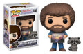 Pre-Order Now! Funko Pop! TV Bob Ross The Joy of Painting Bob Ross w/ Raccoon Vinyl Figure Toy #558
