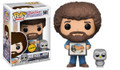 Pre-Order Now! Funko Pop! TV Bob Ross The Joy of Painting Bob Ross w/ Hoot Vinyl Figure Chase Toy #561