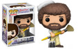 Pre-Order Now! TV Funko Pop! Bob Ross The joy of painting Bob Ross w/ Paintbrush Vinyl Figure Toy #559