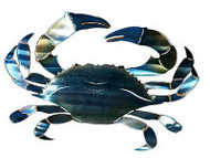 3D Crab Metal Wall Art