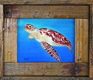 Sea Dweller - Framed Lobster Trap Art