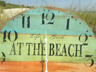 Beach Wall Clock Large