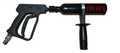 CO2 gas gun, nightclub gas gun, dj gas gun, co2, co2 bazooka, stage co2 bazooka, co2 gas gun, co2 jet gun, co2 cannon