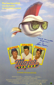 These posters are autographed by none other than ROGER DORN himself (Corbin Bernsen) with added the ultimate special inscription...