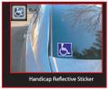 Handicap Sticker
