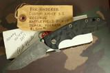 """Hinderer Custom XM-18 3-1/2"""" Recurve """"Battlefield Pickup"""""""