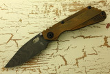 Strider Knives Duane Dwyer Custom SnG Naval Bronze & Damascus