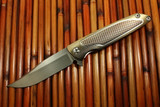 Brian Nadeau Typhoon Bowie Flipper *Best Tactical Folder* Blade 2014