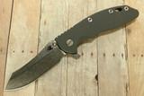 """Hinderer XM-18 3-1/2"""" Skinner Flipper Gray"""