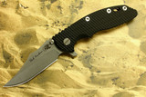 "Custom Hinderer XM-18 3-1/2"" Bowie Flipper **Working Finish**"