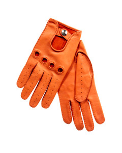 Charter Club Tan Leather Gloves