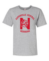 Naperville Redskins Ladies Short Sleeve Shirt