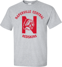 Sport Grey T-shirt with Red printed logo.
