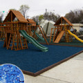 Blue Playground Rubber Mulch Super Sack