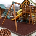 Brown Playground Rubber Mulch 2000 lb Super Sack