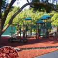 Red Playground Rubber Mulch 2000 lb Super Sack