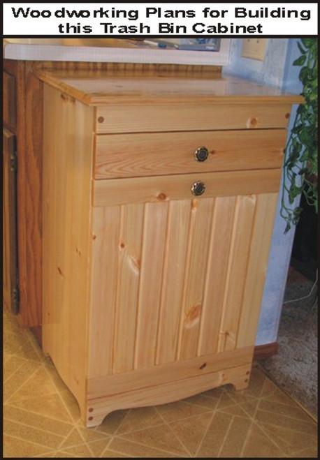 TRASH BIN CABINET PLAN - Woodworking plans wood shop