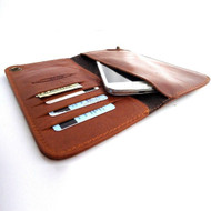 genuine natural leather case for samsung galaxy NOTE 2  3  cover purse pouch book wallet stand note23 free shipping !