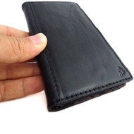 genuine real vintage leather Case For sony Xperia Z2 book wallet 2 z handmade TA