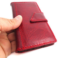 genuine full leather Case for Samsung Galaxy S4 s 4 book wallet handmade skin free shipping