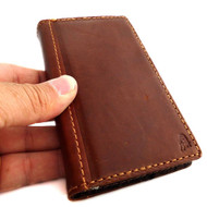 Case genuine Leather Cover Nokia Lumia 928 Pouch Wallet Phone skin Flip Clip new free shipping