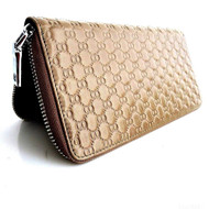 Genuine leather woman purse tote wallet zipper Coins credit Money Handbag id free shipping