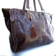 Genuine leather woman bag Tote Hobo Handbag Shoulder Messenger Purse Satchel brown big 19