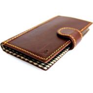genuine italian leather Case for Samsung Galaxy S4I s 4 book wallet handmade luxury uK