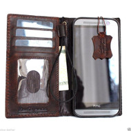 genuine leather slim case for htc one m8 cover purse book pro wallet stand  flip free shipping luxury au