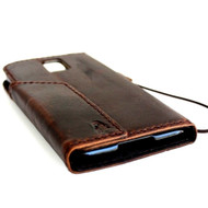 genuine oil leather case for Galaxy NOTE 3 LEATHER CASE  cover purse book wallet stand flip free shipping luxury au