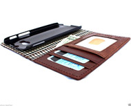 genuine leather slim case for htc one m8 cover purse book pro wallet stand  flip free shipping luxury  business