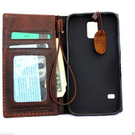genuine italian leather case fit samsung galaxy s5 hard cover purse pro wallet stand luxury business