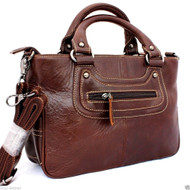 Genuine leather woman bag Purse Shoulder tote Handbag lady hobo Messenger soft free shipping