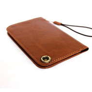 genuine italy leather case for iphone 6 cover book wallet credit card magnet luxurey flip free shipping  60s