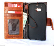 genuine italy leather case for nokia lumia icon cover book wallet credit card magnet luxurey gift close