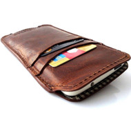 genuine italy leather case for iphone 6 cover book wallet credit card magnet luxurey flip slim R free shipping  60s 4.7