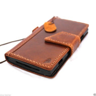 genuine oiled leather hard case for Galaxy NOTE 3 LEATHER CASE  cover purse book slim wallet stand flip free shipping luxury au