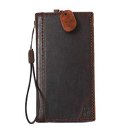 genuine italian leather Case for Samsung Galaxy S5 active s 5 SM-G870A book wallet handmade il
