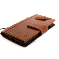 genuine oileditaly slim leather case for iphone 6  4.7 cover book wallet credit card magnet luxurey flip  R free shipping  new
